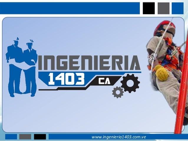 www.ingenieria1403.com.ve