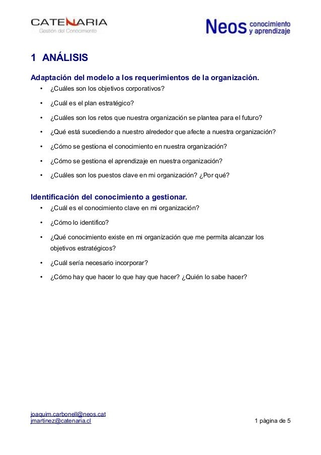 La gestión del aprendizaje y la mejora de las organizaciones: Algunas preguntas previas.