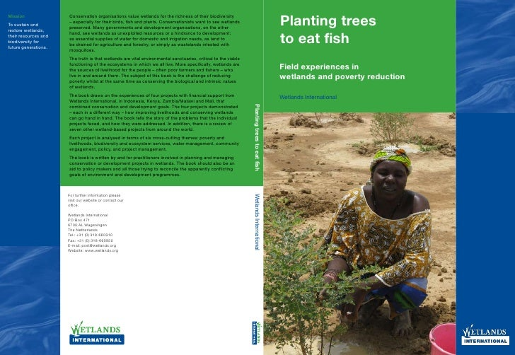 Planting Trees to Eat Fish - Field Experiences in Wetlands & Poverty Reduction