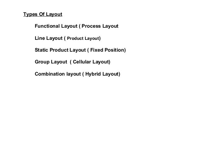 Shop Layout And Management Shop Functional Layout