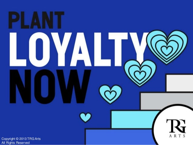 TRG Webinar: Plant Loyalty Now