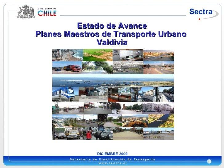 Plan Transporte Urbano de Valdivia