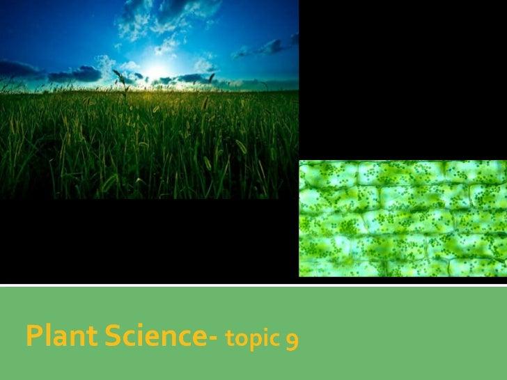Plant Science part 1