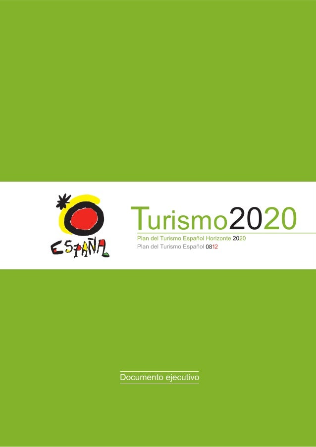 Turismo 2020Documento ejecutivo