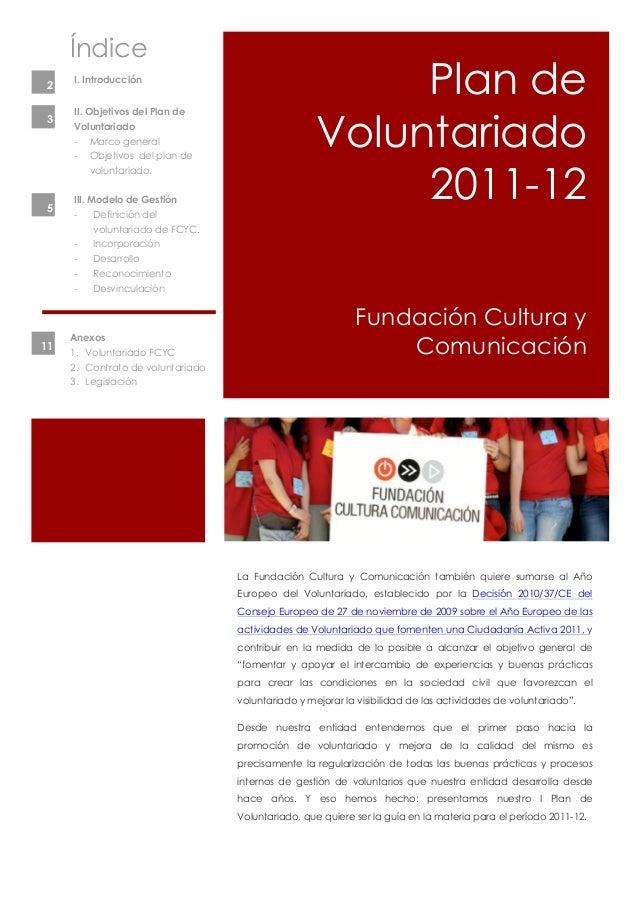 Plan voluntariado FCYC 2011-12