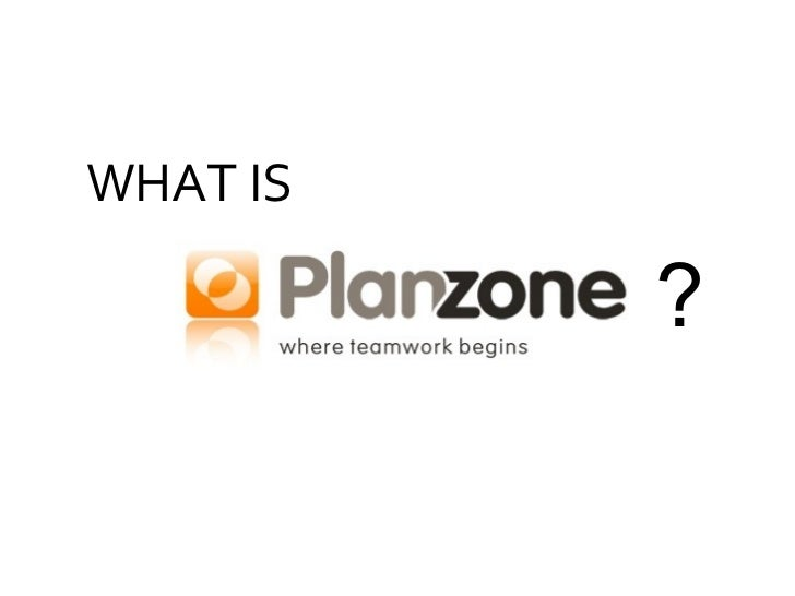Project management and online collaboration with Planzone - Quick product tour