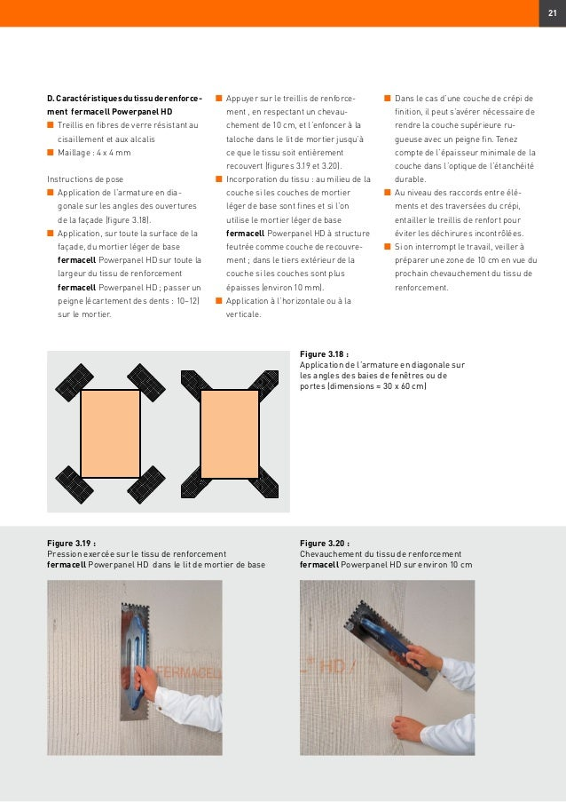 Plaque fermacell powerpanel hd plaque de parement ext rieur infor - Mortier d egalisation fermacell ...