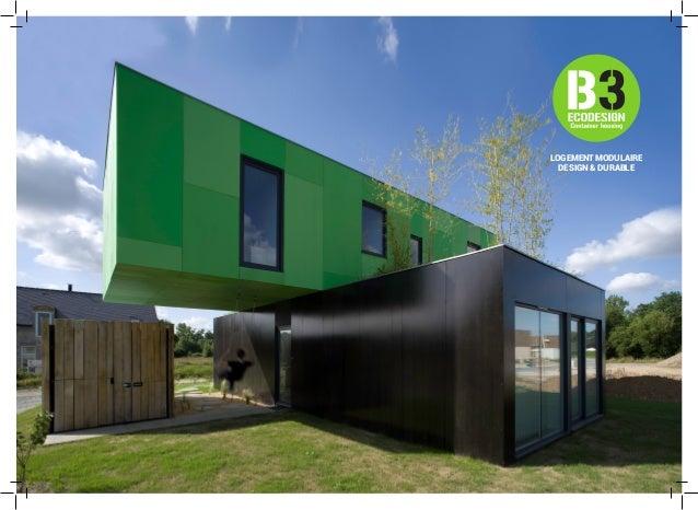 Solutions b3 ecodesign destination des bailleurs sociaux for Maison container 95