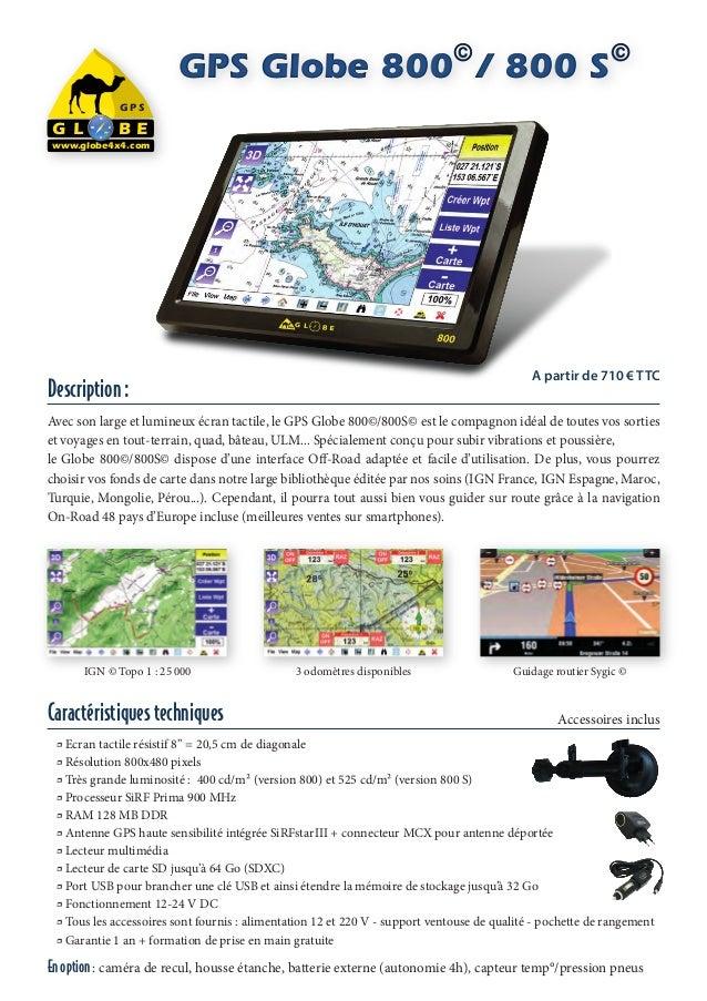 ©                              ©                         GPS Globe 800 / 800 S                   GPS           NG L    W  ...