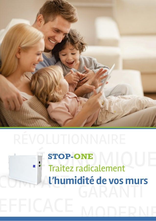 Traitez radicalement l'humidité de vos murs
