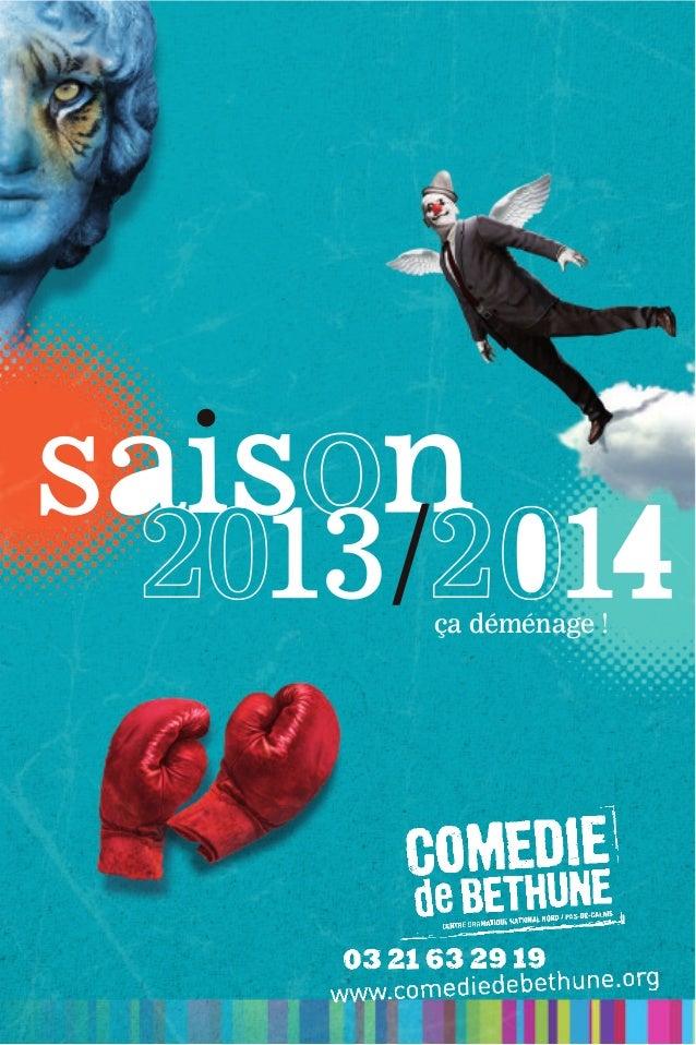 Plaquette de la saison 2013/2014