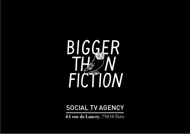 SOCIAL TV AGENCY 61 rue de Lancry, 75010 Paris