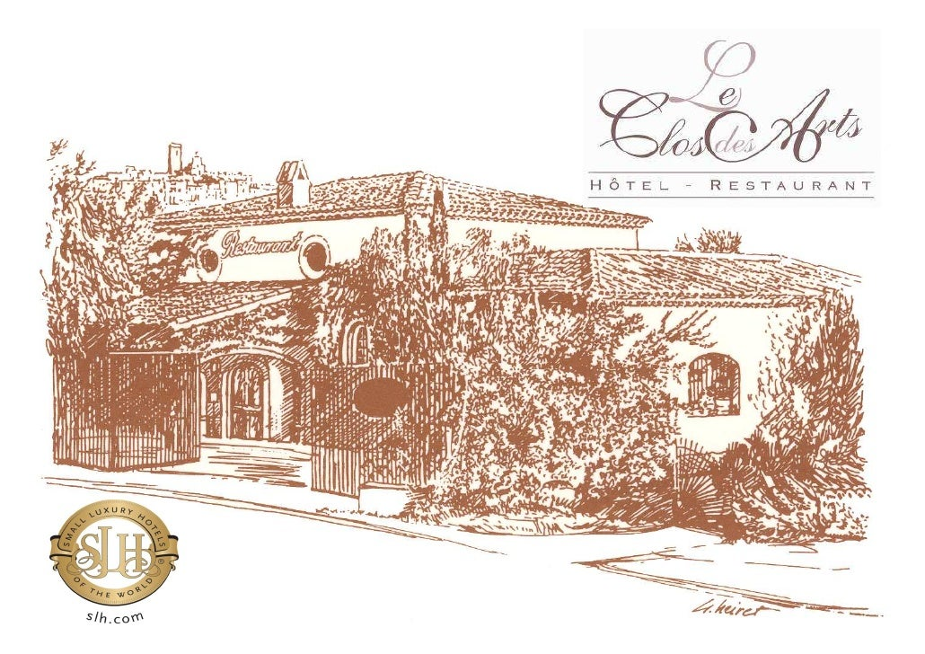 THE RESTAURANT /THE TERRACE                      The cuisine of Clos des Arts is a subtle blend of flavours of the region ...