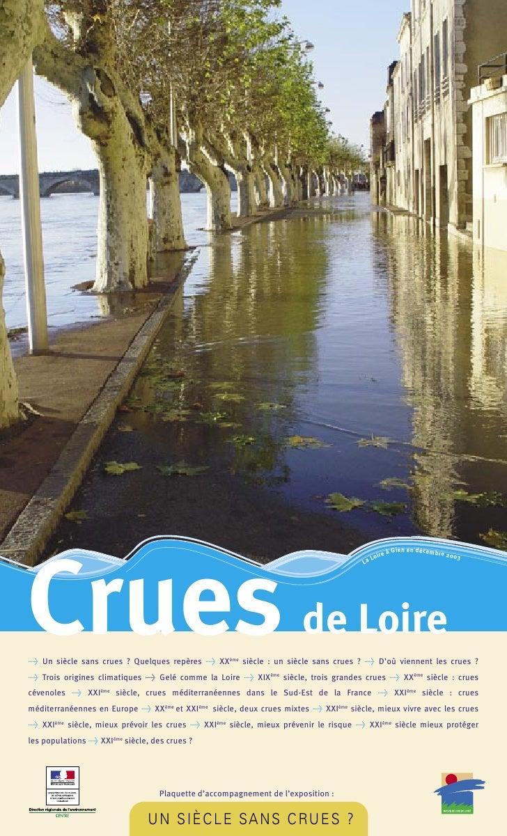 Crues de Loire                                                                                           re   à Gien en dé...