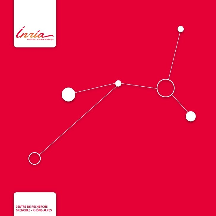Inria - Plaquette du centre de recherche Grenoble - Rhône-Alpes