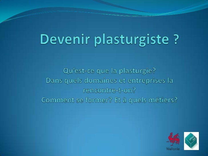 La plasturgie est lindustrie qui conçoit et fabrique les produits en matières plastiques et composites dans tous les secte...