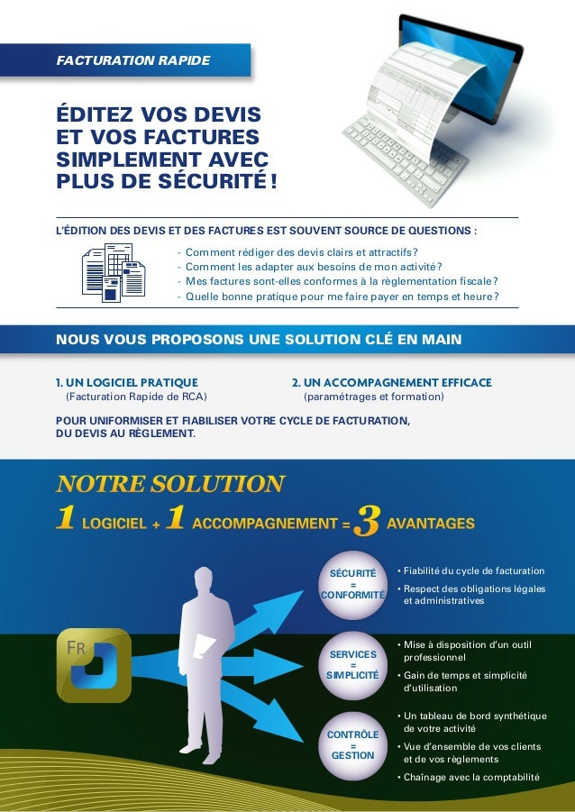 Plaquette Solution de facturation