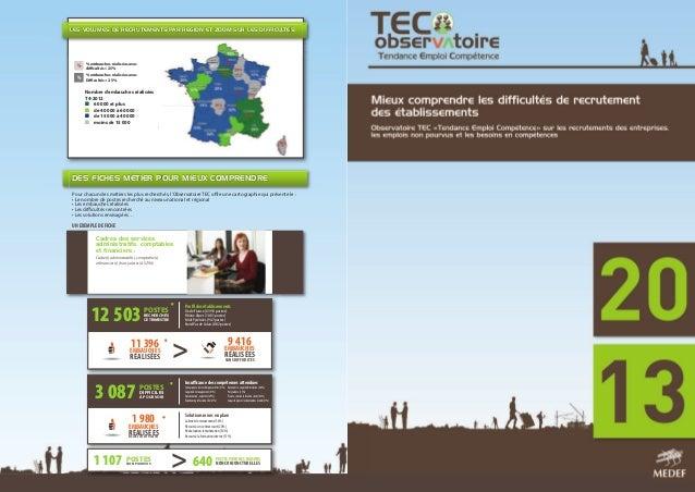 Plaquette de présentation Observatoire TEC (Tendance Emploi Compétence)
