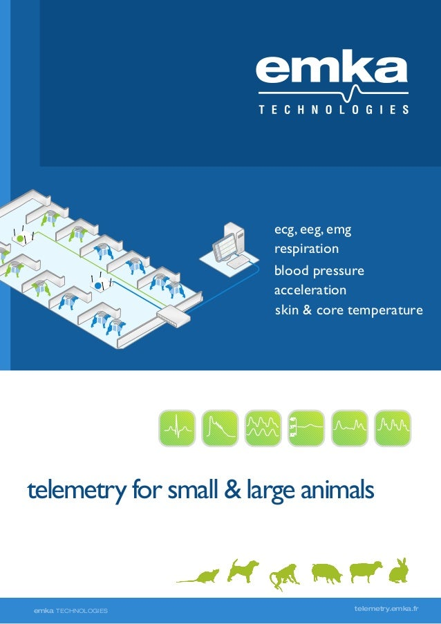 Telemetry for small and large animals