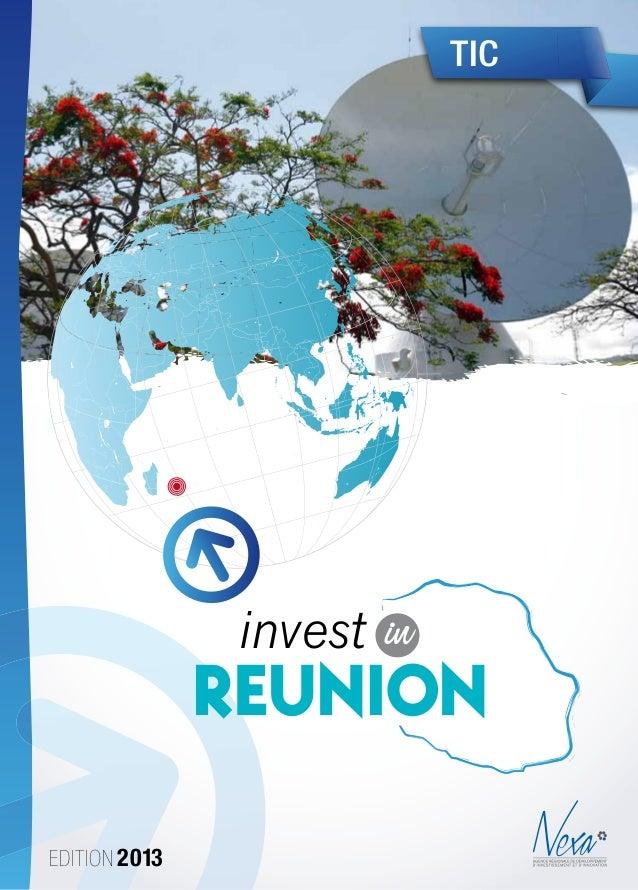 Edition 2013TICinvest inReunionCharte Graphique Nexa