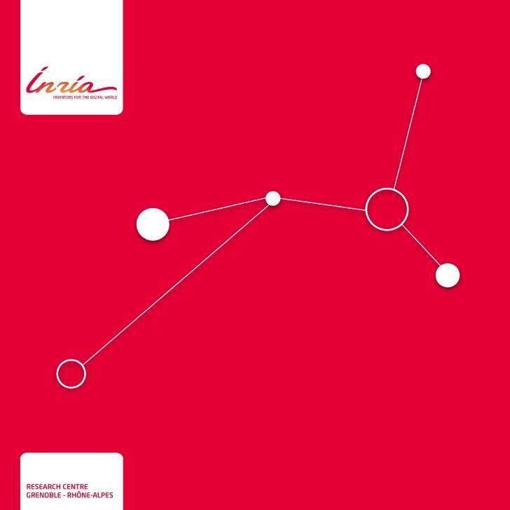 Inria - leaflet of research centre Grenoble - Rhône-Alpes