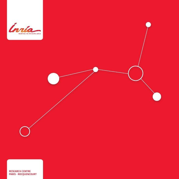Inria - leaflet of research centre Paris - Rocquencourt