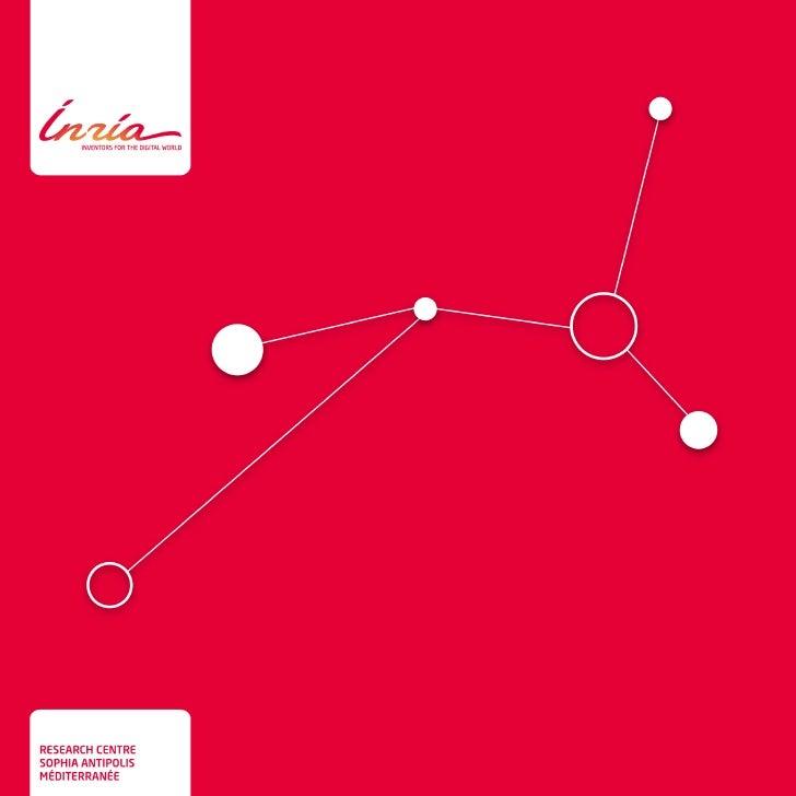 Inria - leaflet of research centre Sophia Antipolis - Méditerranée