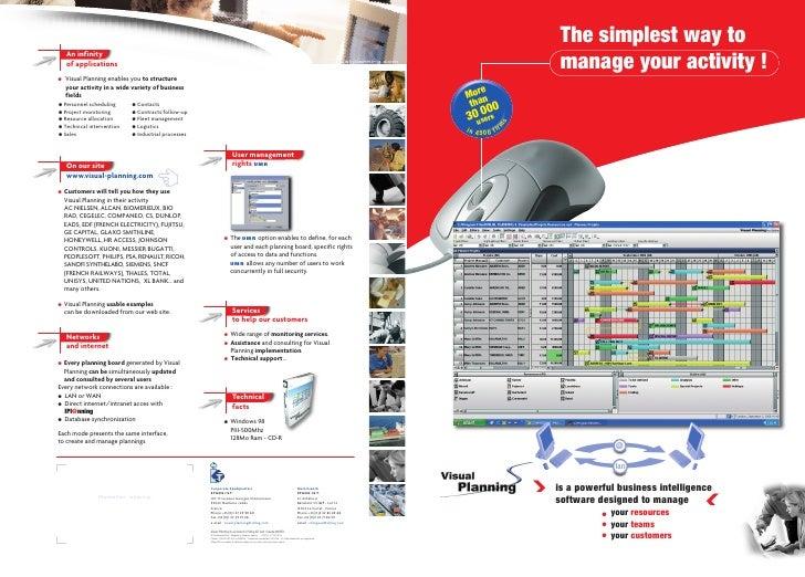 EN - Visual Planning Brochure in English
