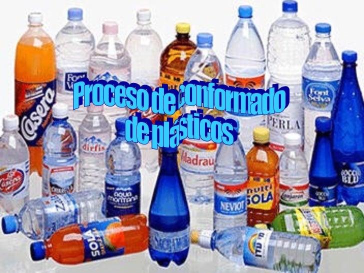 Proceso de conformado de plásticos