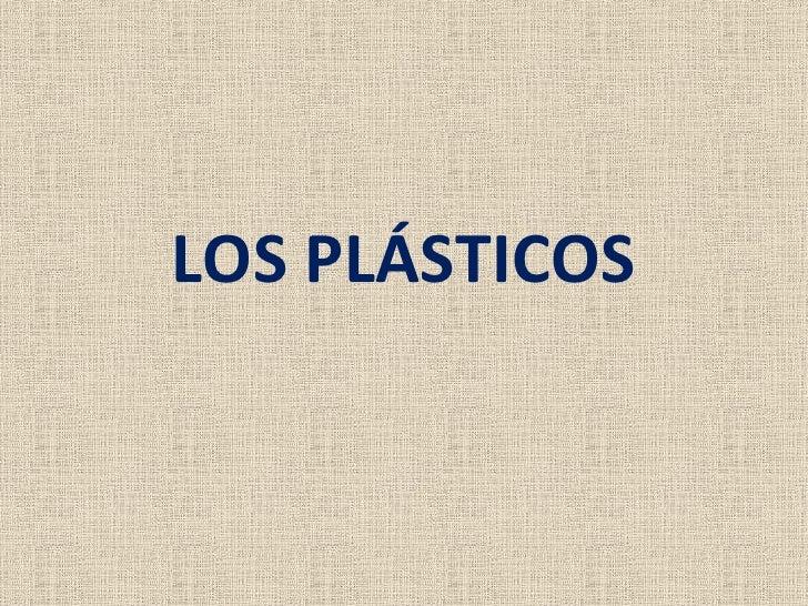 Plasticos instrumentacion y control