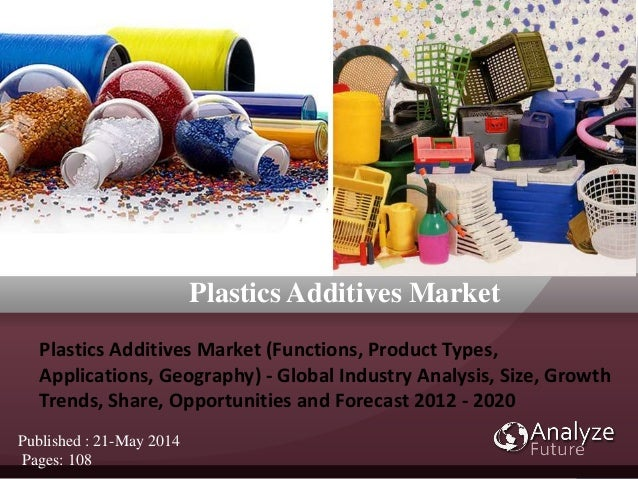 Plastics Additives Market (Functions, Product Types, Applications, Geograp hy) - Global Industry Analysis, Size, Growth Tr...