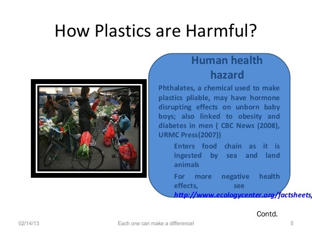 Plastic bags effects on human health - Plastics And Global Warming
