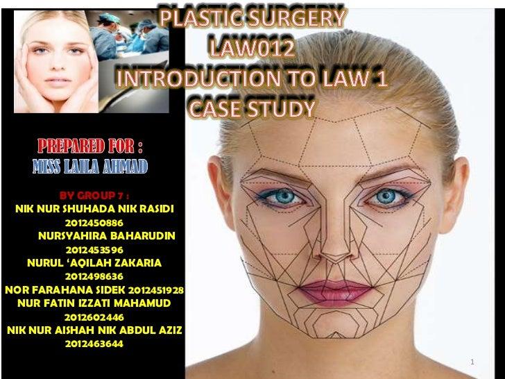 Plastic surgery (law012)