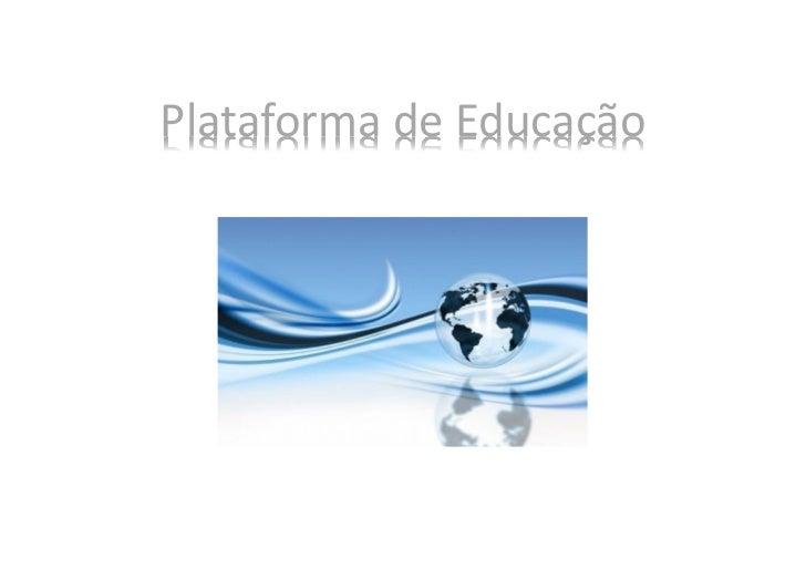 Plataforma de Educação