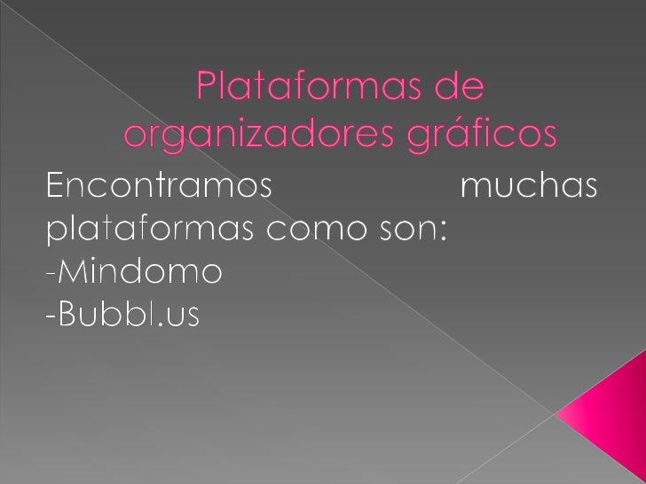 Plataformas de organizadores gráficos