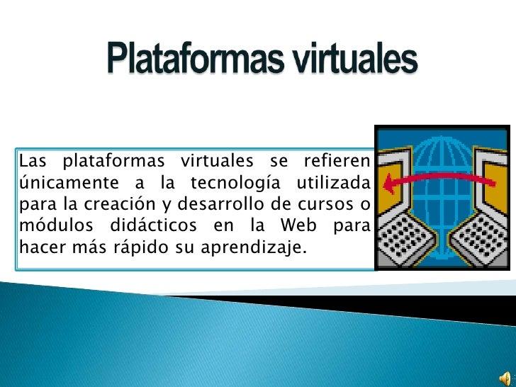 Plataformas barba for Que es una pagina virtual