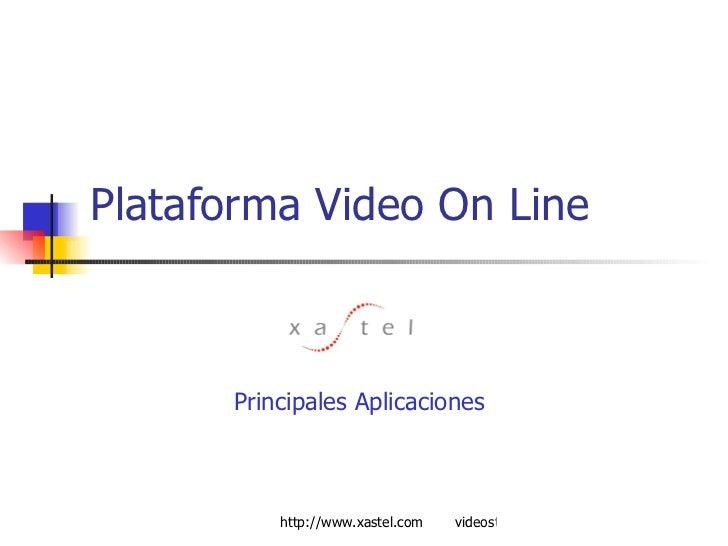 Plataforma Video On Line