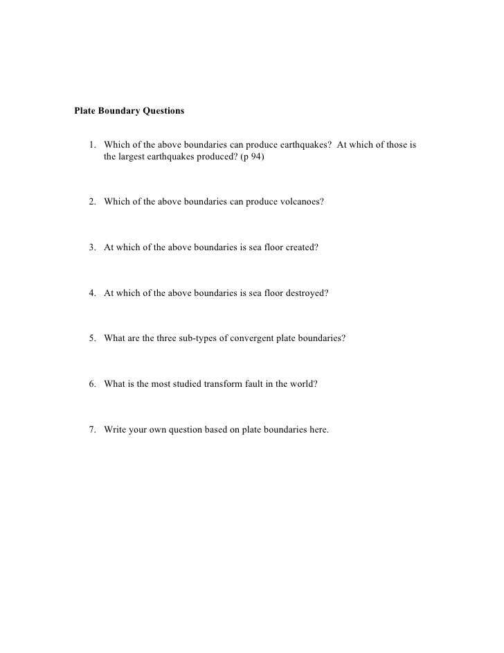 Volcanoes And Plate Tectonics Worksheet – Volcano Types Worksheet