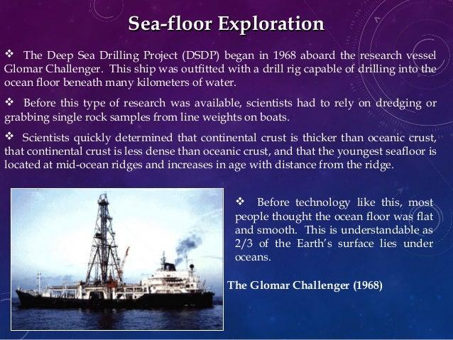 Glomar Challenger Vessel Glomar Challenger
