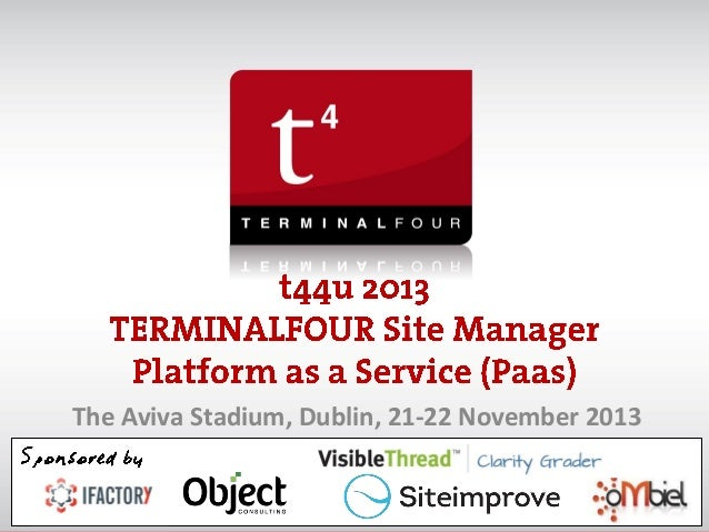 The Aviva Stadium, Dublin, 21-22 November 2013