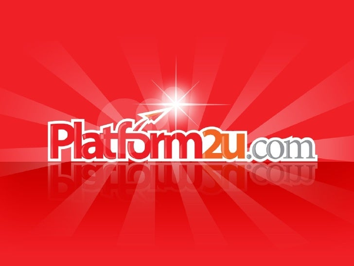 Platform2u are not only a global e-commerce                                company, but also a localize e-commerce        ...