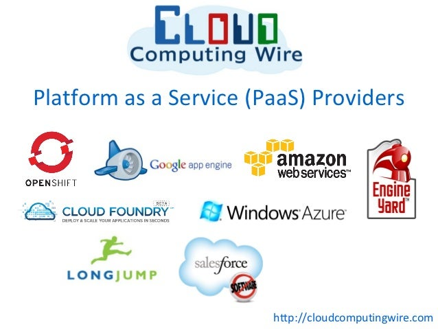 Platform as a Service (PaaS) Providers