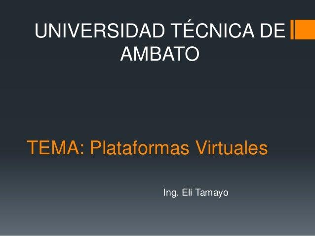 Platformas virtuales