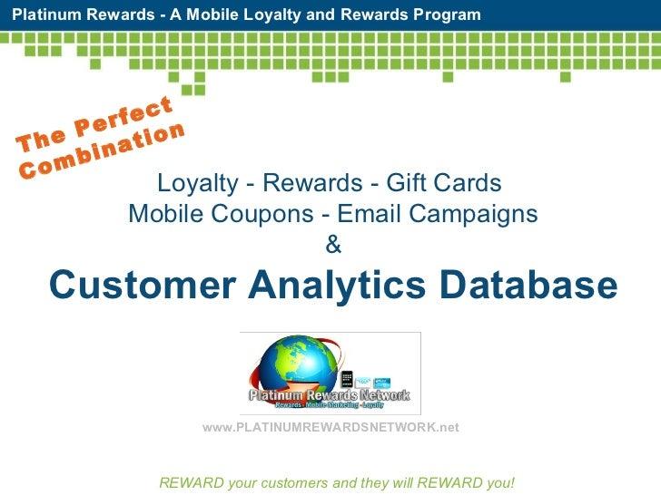 Platinum Rewards Network  Short Sales Presentation
