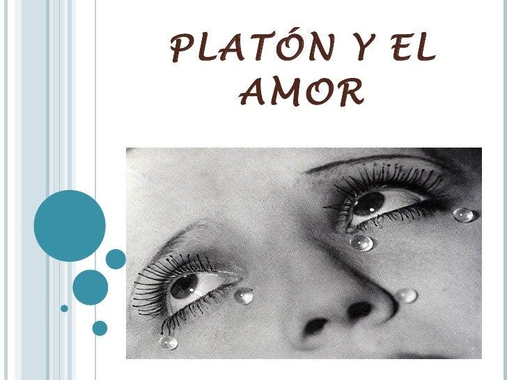 PLATÓN Y EL AMOR