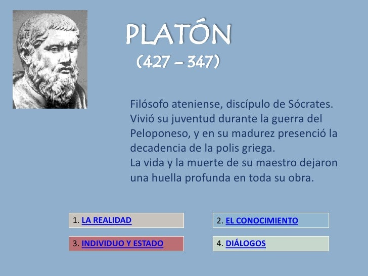 Filósofo ateniense, discípulo de Sócrates.             Vivió su juventud durante la guerra del             Peloponeso, y e...