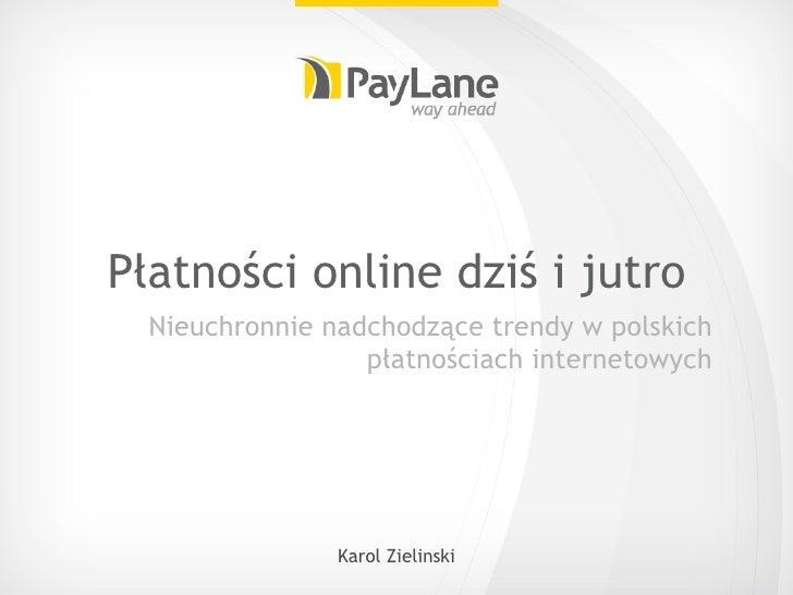 Płatności online dziś i jutro - PayLane [PL]