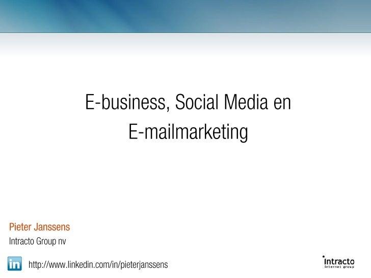 Plato E-business presentatie