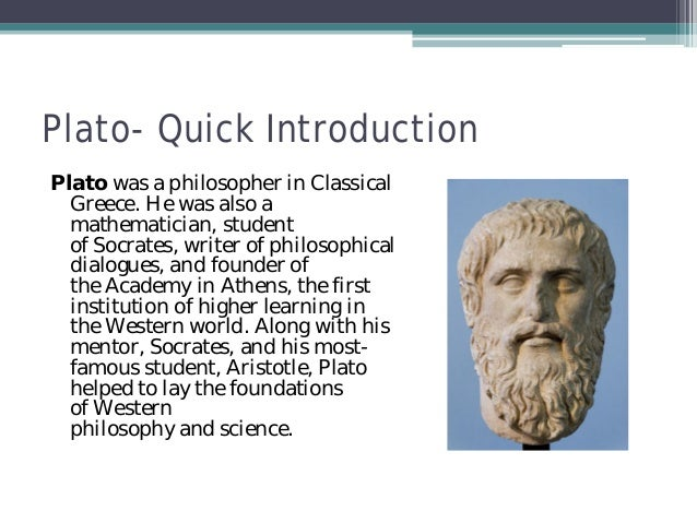 an introduction to the philosophical examination of platos dialogues The essence of human freedom: an introduction to philosophy and the essence of truth: on plato's cave allegory and theaetetus step-by-step exegesis of two central arguments from plato's dialogues the first, an analysis of the allegory of the cave from book vii of the republic.