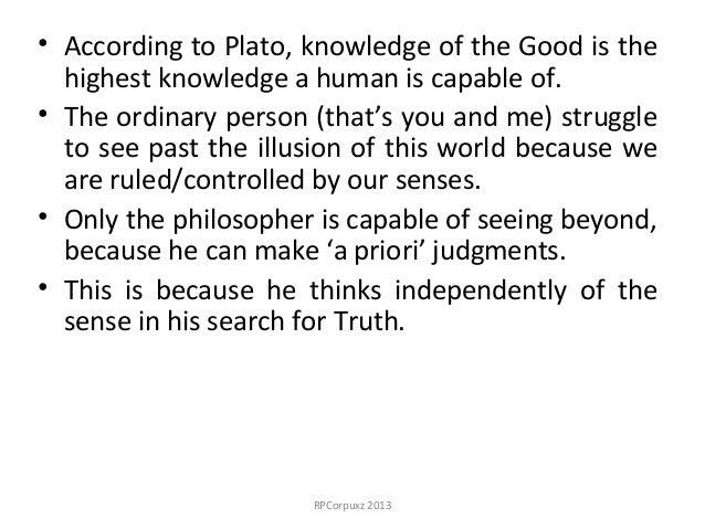 plato knowledge essay